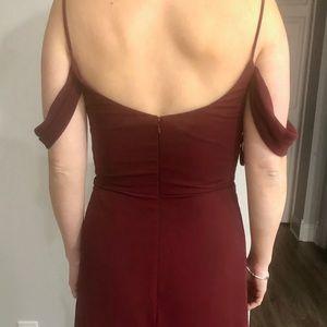 D'Zage bridesmaid dress